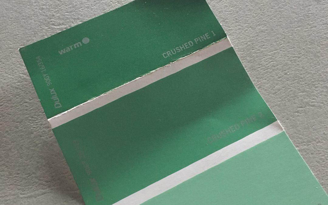 Going Green…