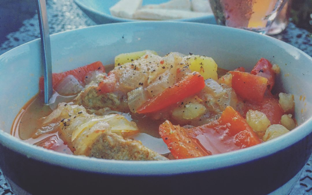 Greek Style Tuna Stew