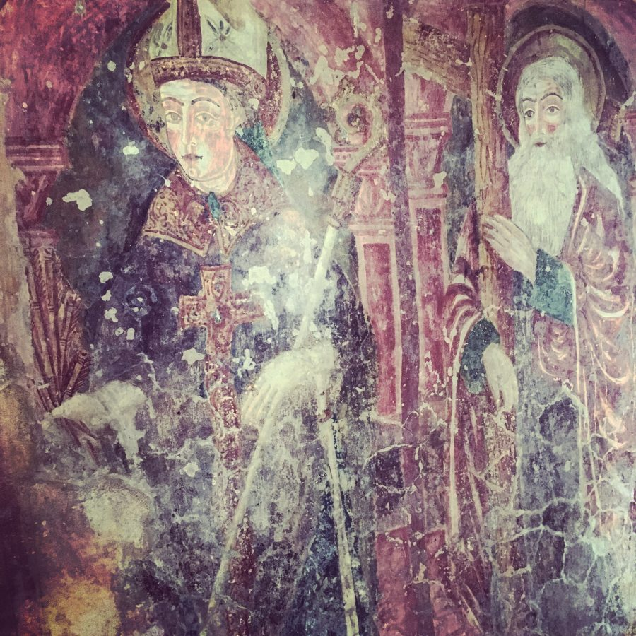The Frescoes of the Church of St Roc, Draguć, Istria