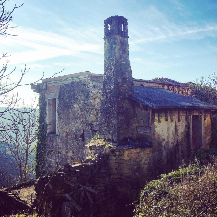 Abandoned village in Istria, Croatia