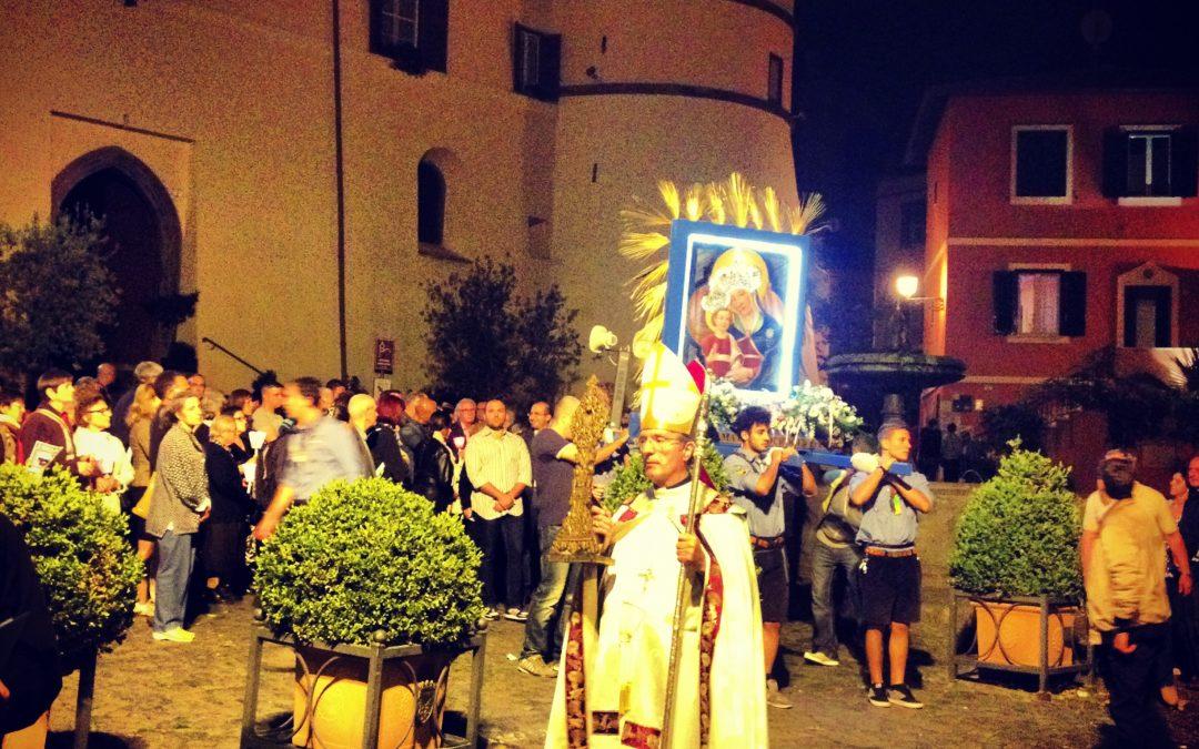 A Festival in Frascati, Italy